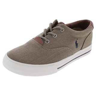 Polo Ralph Lauren Boys Vaughn II Fashion Sneakers Low Top Casual