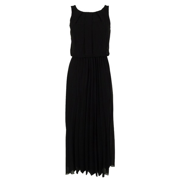B Darlin Juniors' Pleated Maxi Dress