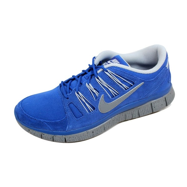 Nike Men's Free 5.0 EXT Hyper Blue/Grey-Anthracite 580530-400 Size 10