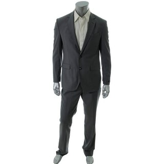 Kenneth Cole New York Mens Wool Slim Fit Pant Suit - 42L