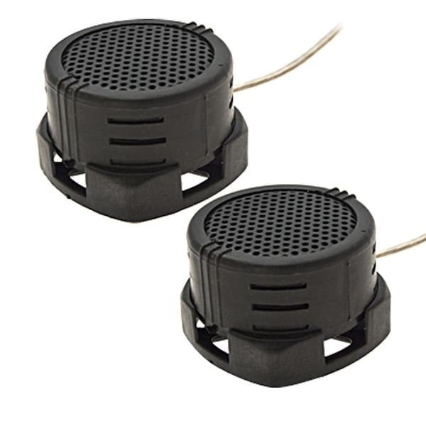 Unique Bargains Replacement Speakers 40 Watt Car Tweeters Complete Kit Qphpc