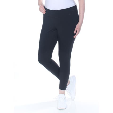 NIKE Womens Black Active Wear Leggings Plus Size: 2X