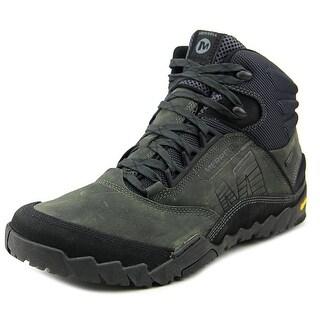Merrell Annex Mid Gore-Tex Round Toe Leather Work Boot