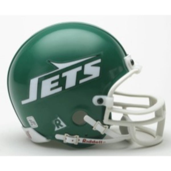 54982abf1bd Shop New York Jets 1978-89 Throwback Replica Mini Helmet - Free Shipping  Today - Overstock - 22203610