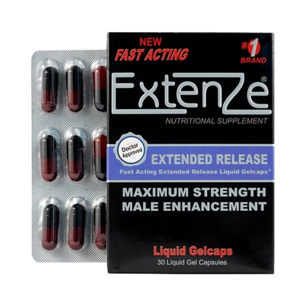 Shop Extenze Male Enhancement Supplements Free Shipping Today