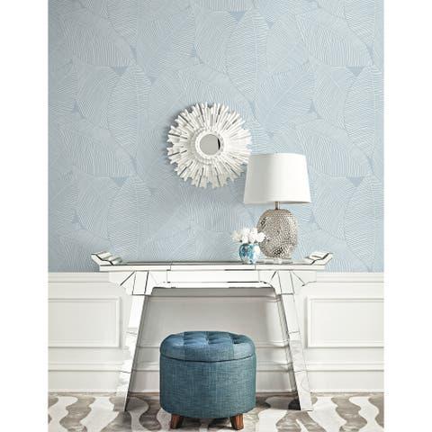 Seabrook Designs Beach House Summer Magnolia Unpasted Wallpaper
