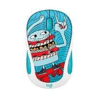 Logitech 910-005028 M325c Small Colorful Wireless Mouse Skate Burger