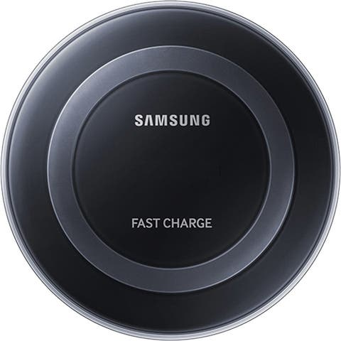 Samsung Fast Charge Qi Wireless Charging Pad for Qi Enabled Devices - Black - US Version - 2 Pack