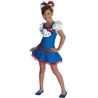 Rubies Hello Kitty Blue Classic Tutu Dress Child Costume