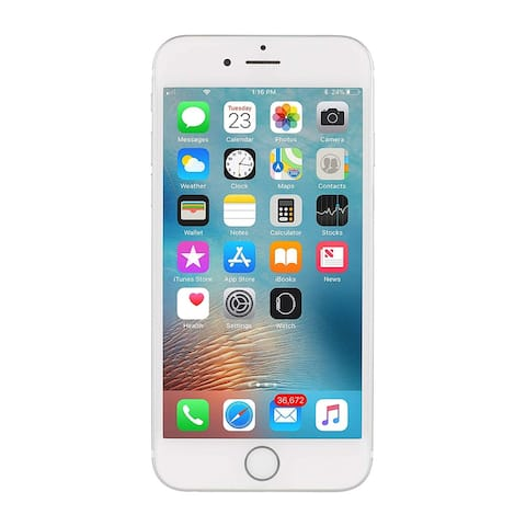 Apple iPhone 6S 16GB Silver - Fully Unlocked (Refurbished)
