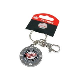 Minnesota Twins MLB Impact Metal Key Ring Keychain