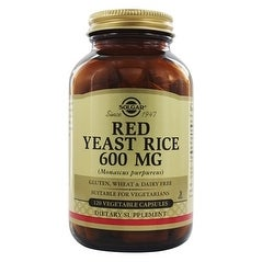 Solgar Red Yeast Rice (120 Veggie Capsules)