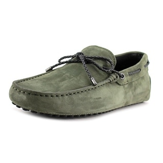 Tod's Laccetto My Colors New Gommini 122 Round Toe Suede Loafer