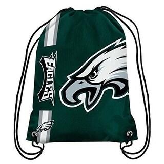 Philadelphia Eagles Big Logo Drawstring Backpack