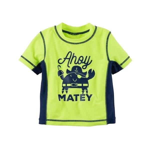 Carter's Baby Boys' Ahoy Matey Rashguard, 12 Months