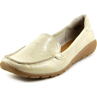 Easy Spirit Abide Moc Toe Patent Leather Loafer