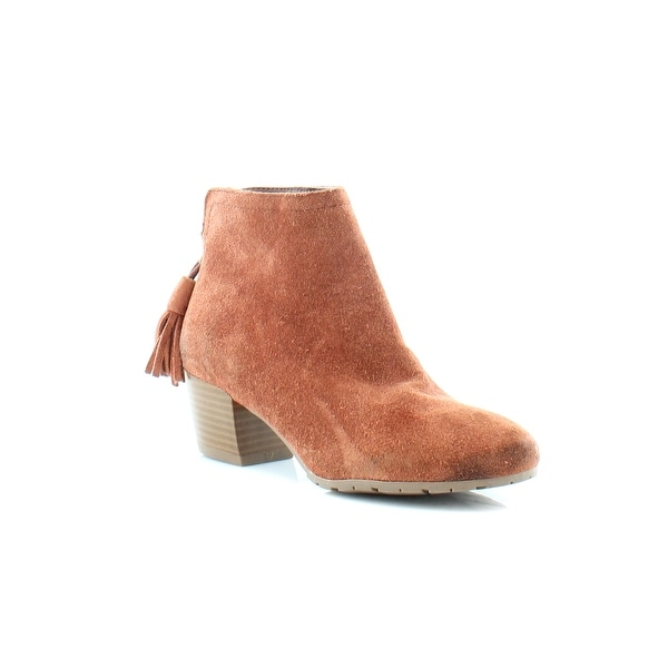 Kenneth Cole Reaction Pil Age Women's Boots Rust