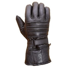 Mens Premium Sheep Leather Winter Motorcycle Biker Riding Gloves G10