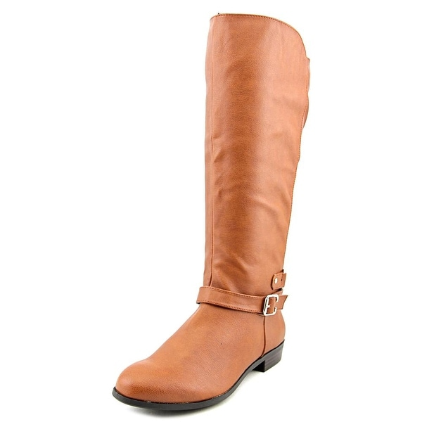 Style & Co Faee Women Round Toe Synthetic Brown Knee High Boot