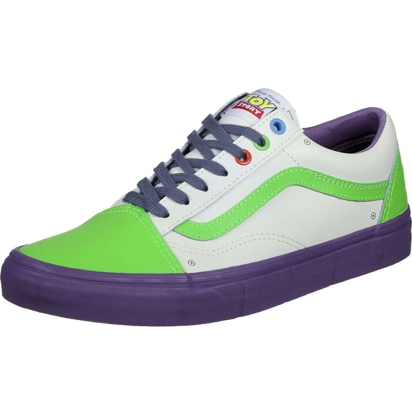 a691aa93f8 Vans Mens Toy Story Old Skool Leather Low Top Lace Up Fashion Sneakers - 4