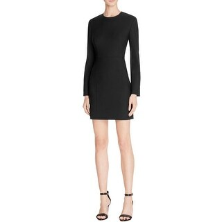 Elizabeth and James Womens Rudi Cocktail Dress Cut-Out Long Sleeve