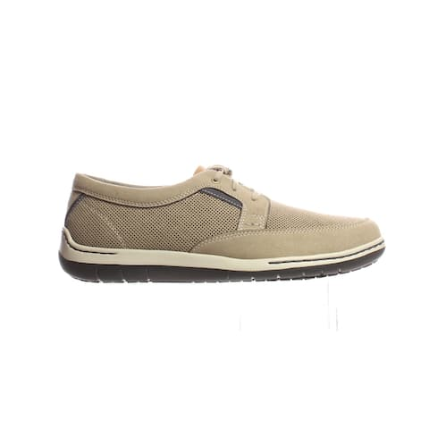 Dunham Mens Fitswift Stone Walking Shoes Size 8 (2E)