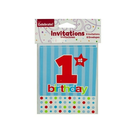 Shop 1st Birthday Invitations