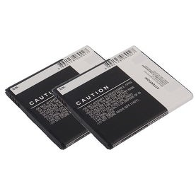 New Replacement Battery Pantech PBR-49A for Phone Models 2 Pack