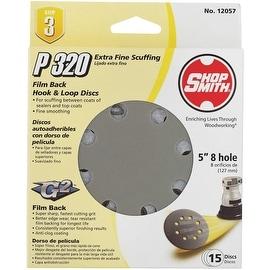 "Shop Smith 15Pk 5"" 320G Sand Disc"
