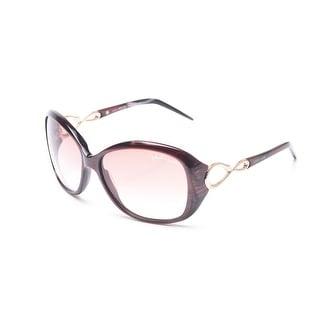 Roberto Cavalli Women's Gardenia Sunglasses Maroon - Small