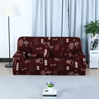 Unique Bargains Elastic Fabric L-Shaped Stretch Sofa Covers Couch Sofa Slipcovers (1 2 3 Seater)