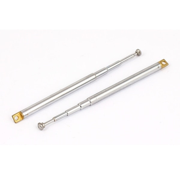 2pcs 18.5cm Long 4 Sections Telescopic Antenna Aerial for RC Radio Controller