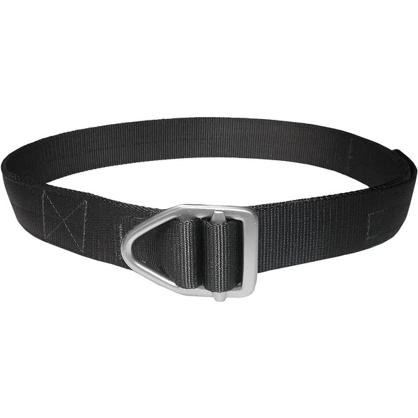 Bison Designs Last Chance Heavy Duty Gunmetal Buckle Belt - Black