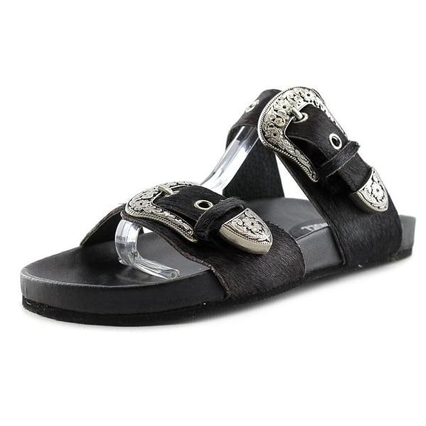 Eight Second Angel Sheniah Western Sandal Women Black Sandals