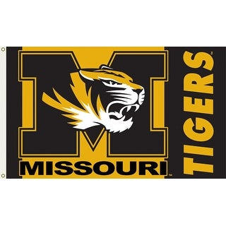 University of Missouri Tigers Logo Flag