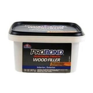 Elmer's P9892 Probond Wood Filler Stainable, 1 Quarts