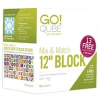 """AccuQuilt GO! Cube Mix & Match 12"""" Block"""