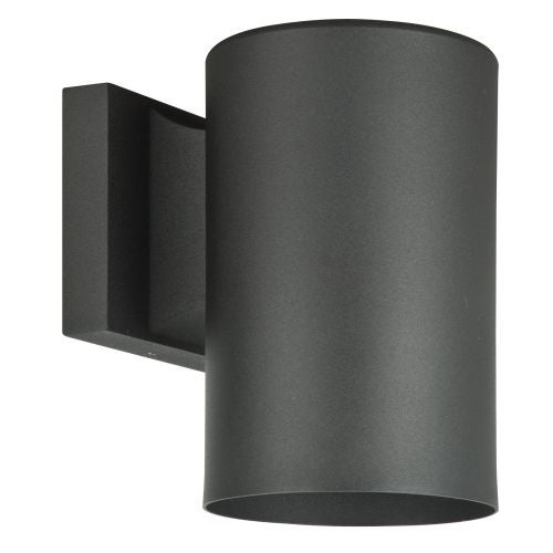 "Sunset Lighting F6901 Architectural 1 Light Dark Sky Compliant 8"" Height Outdoor Aluminum Wall Sconce"