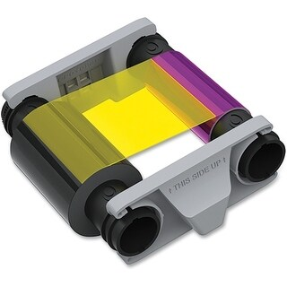 """Evolis CBGR0100C Evolis Badgy100 & 200 Color Ribbon - Compatible with Badgy100 & 200 printers only"""