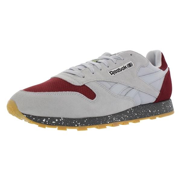 35020a54989 Shop Reebok Cl Leather Sm Casual Men s Shoes - On Sale - Free ...