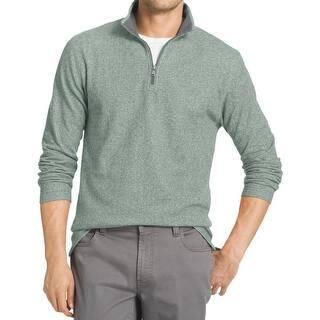Izod Mens Funnel-Neck Sweatshirt 1/4 Zip Textured|https://ak1.ostkcdn.com/images/products/is/images/direct/869ba4cc2fa58e6442150418f5f1edcd31df731d/Izod-Mens-Funnel-Neck-Sweatshirt-1-4-Zip-Textured.jpg?impolicy=medium