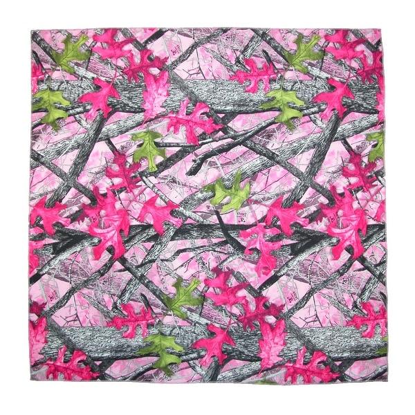 CTM® Women's Cotton True Timber Sassy Camouflage Print Bandana - One size