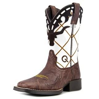 Ariat Dakota Dogger Toddler Square Toe Leather Brown Western Boot