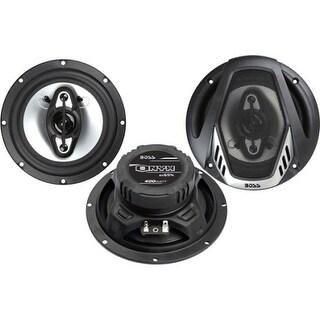 "Boss NX654 Boss Audio NX654 Onyx 6.5"" 4-way 400-watt Full Range Speakers - 65 Hz to 20 kHz - 4 Ohm - 90 dB Sensitivity -"