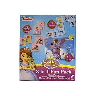 Sofia The First 3-in-1 Fun Pack