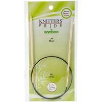 "Bamboo Fixed Circular Needles 24""-Size 3/3.25mm"