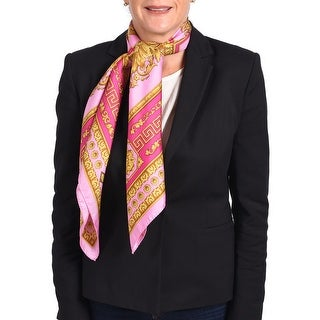 Versace Women's Baroque Pattern Silk Scarf