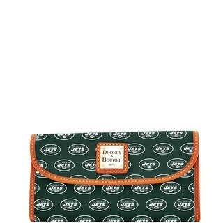 Dooney & Bourke NFL Jets Continental Clutch (Introduced by Dooney & Bourke at $128 in Aug 2016)