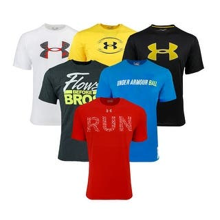 e7698b494328 Under Armour Men s Short Sleeve T-Shirt 3-Pack - Assorted