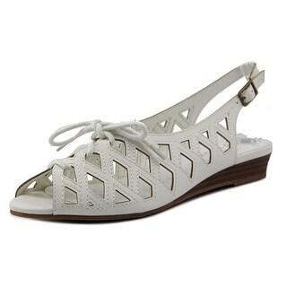 Easy Street Tinker Women WW Open-Toe Synthetic Slingback Sandal